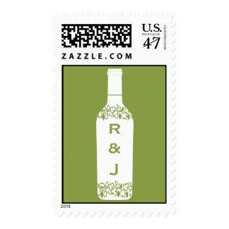 Vineyard Wedding Postage