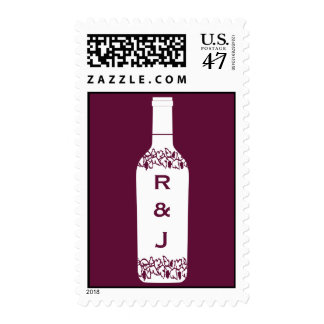 Vineyard Wedding Postage