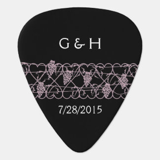 Vineyard Wedding – Purple Guitar Pick