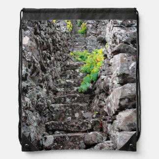Vineyards in Azores islands Drawstring Backpack