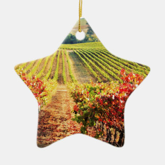 VINEYARDS.JPG CERAMIC ORNAMENT