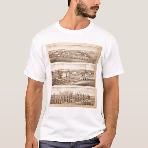 Vineyards, ranches, Tulare Co, Calif T-Shirt