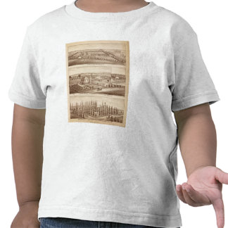 Vineyards, ranches, Tulare Co, Calif Tshirt