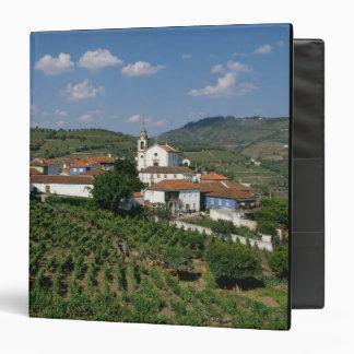 Vineyards, Village of San Miguel, Douro Vinyl Binder