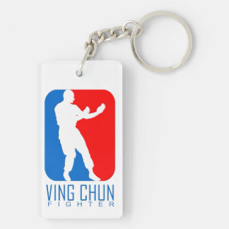 Ving Chun Fighter - Ip Man Linage Double-Sided Rectangular Acrylic Keychain