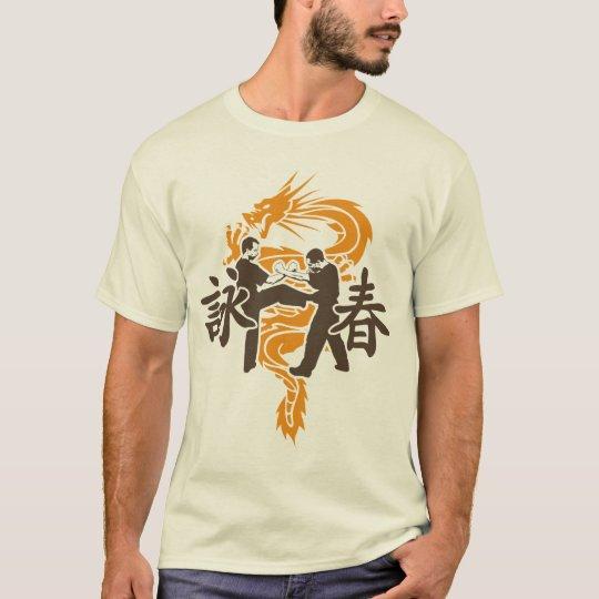 Ving Tsun Fight Scene Dragon T-Shirt