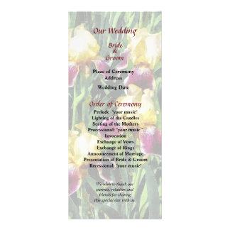 Vingolf Irises Wedding Program