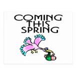 Viniendo este primavera postales