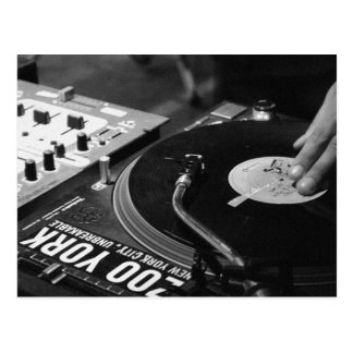 Vinilo de giro 1 de DJ Tarjeta Postal