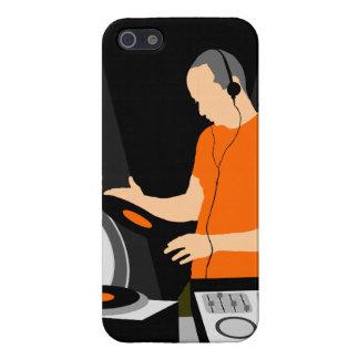 Vinilo de giro de DJ iPhone 5 Fundas