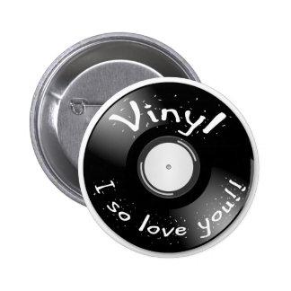 ¡VINILO - de I amor tan usted! Pin