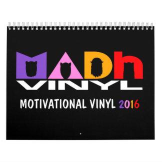 Vinilo de MADh calendario de 12 meses