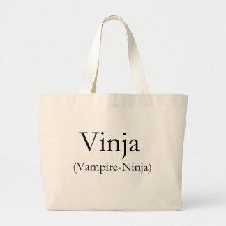 Vinja Vampire-Ninja Tote Bag