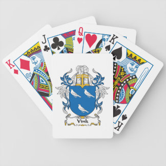 Vink Family Crest Bicycle Playing Cards
