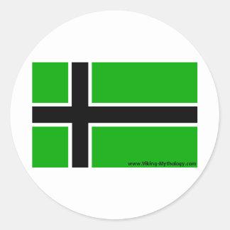 vinland classic round sticker
