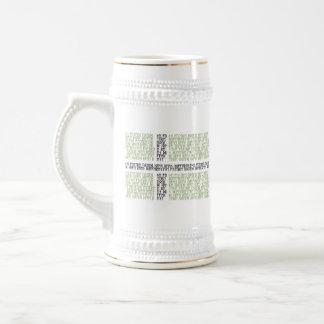 Vinland Flag w Runes - Stein Coffee Mugs