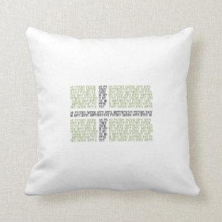 Vinland Flag w Runes - Throw Pillow