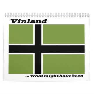 Vinland Flag - What Might Have Been Calendar