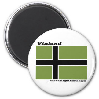 Vinland Flag - What Might Have Been Magnet
