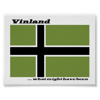 Vinland Flag - What Might Have Been Print