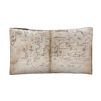 Vinland Map Cosmetic Bags
