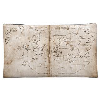 Vinland Map Makeup Bag