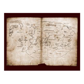 Vinland Map Postcard