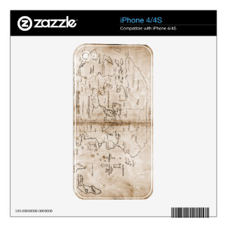 Vinland map skin for iPhone 4S