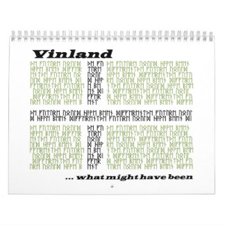 Vinland Runic Flag - What Might Have Been Wall Calendars