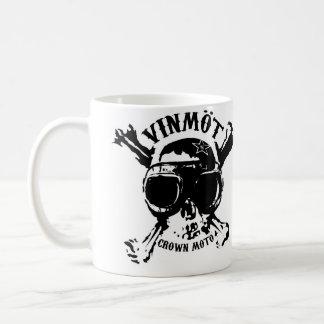 VINMOT Speed Demon Classic White Coffee Mug