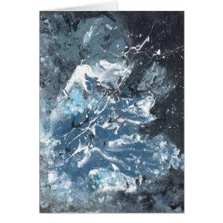 Vinn Wong Abstract Art - Heave Card