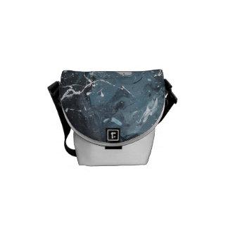 Vinn Wong Abstract Art - Heave Messenger Bag