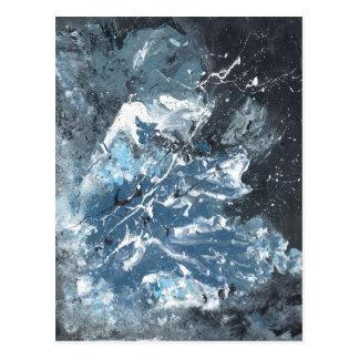 Vinn Wong Abstract Art - Heave Postcard