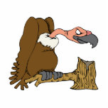 """Vinnie Vulture Statuette<br><div class=""""desc"""">If you love Vultures or Condors the worlds best known avian scavenger,  then you will love this great gift!  Perfect for you or anyone you love who have an affinity for Vultures.</div>"""