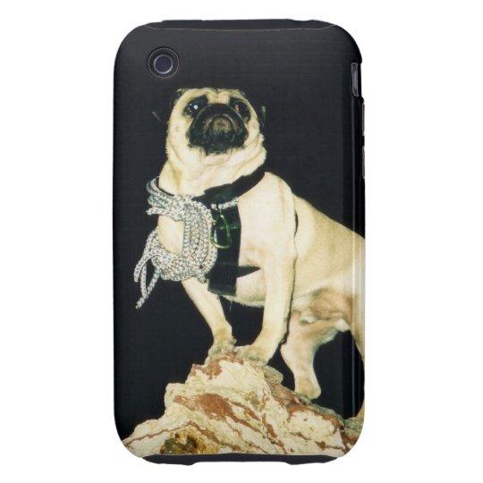 Vinny the Pug I Phone Hard Cover