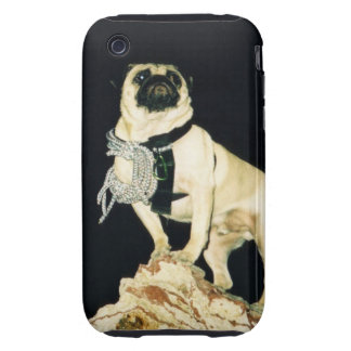 Vinny the Pug I Phone Hard Cover iPhone 3 Tough Case