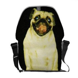Vinny the Pug Messenger Bag