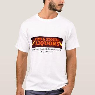 Vino and Stogies shirt.. T-Shirt