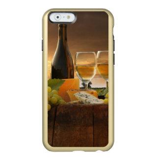 Vino blanco con el barril en viñedo en Chianti Funda Para iPhone 6 Plus Incipio Feather Shine