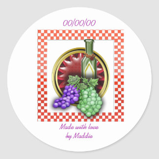 vino canning sticker