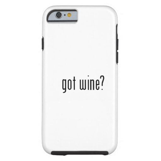 ¿vino conseguido? funda de iPhone 6 tough