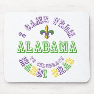 Vino de Alabama celebran los regalos de las camise Alfombrillas De Raton