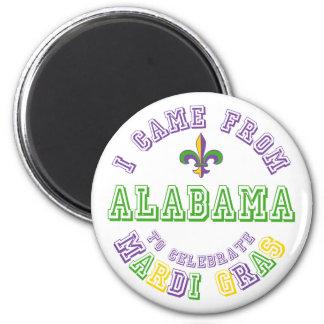 Vino de Alabama celebran los regalos de las camise Imán Redondo 5 Cm