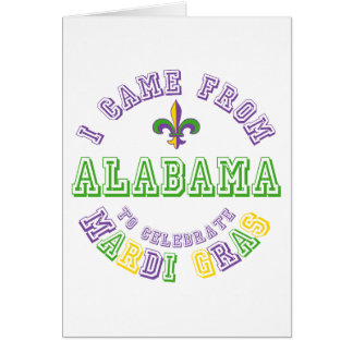 Vino de Alabama celebran los regalos de las camise Tarjeta De Felicitación