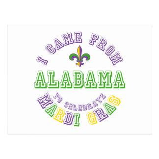 Vino de Alabama celebran los regalos de las Postales