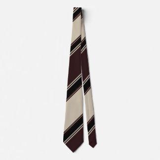 Vino de Champán y lazo rayado Blackberry Corbata Personalizada