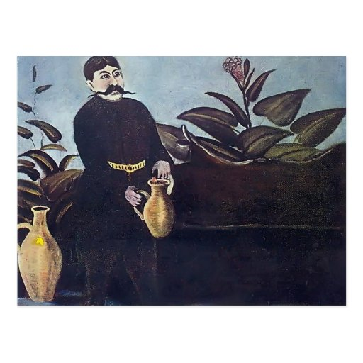 Vino de colada de Sarkis de Niko Pirosmani Tarjetas Postales