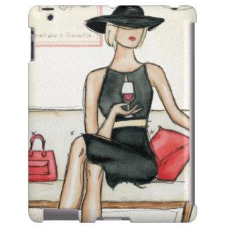 Vino de consumición del fashionista funda para iPad