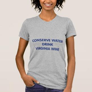 vino de la bebida h20 camiseta