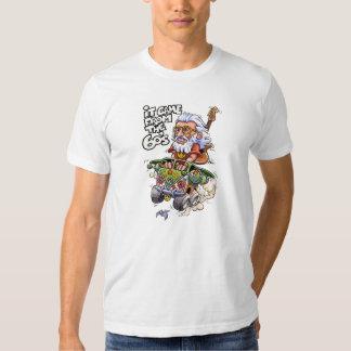 Vino de la camiseta del blanco de los años 60 poleras
